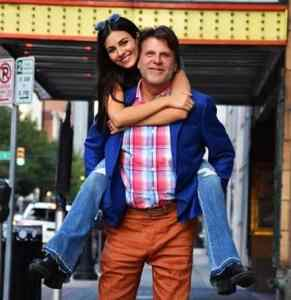 Victoria Justice With Her Father
