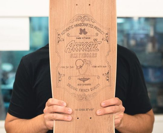 Brice de Arkaic Skateboards