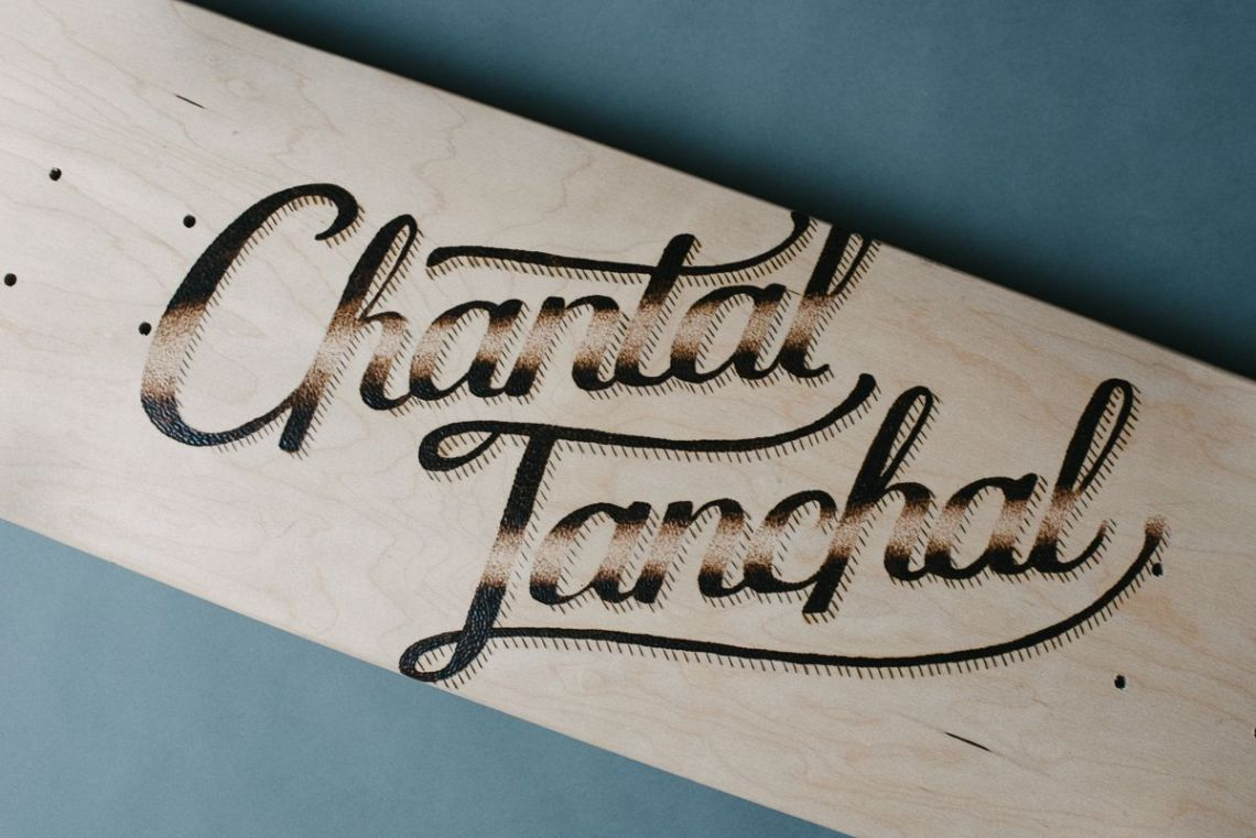 Chantal Tanchal skate