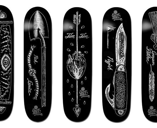 Chad Eaton x Element skateboards