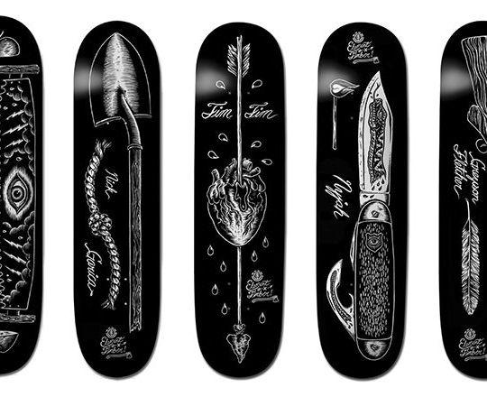 Chad Eaton x Element skateboards