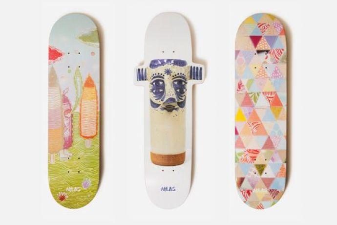 Thomas Campbell x Atlas Skateboard