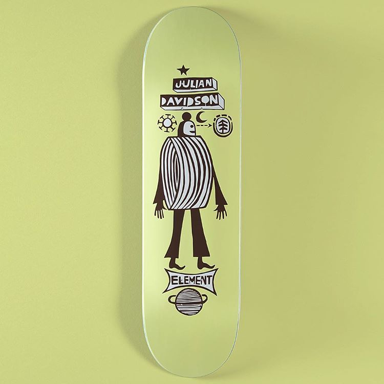Element x Fernando Elvira skateboards