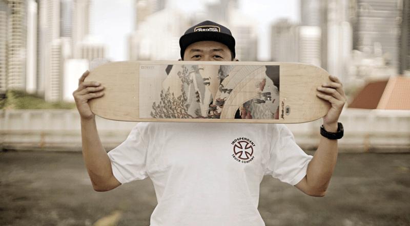 Mister Tucks skateboard