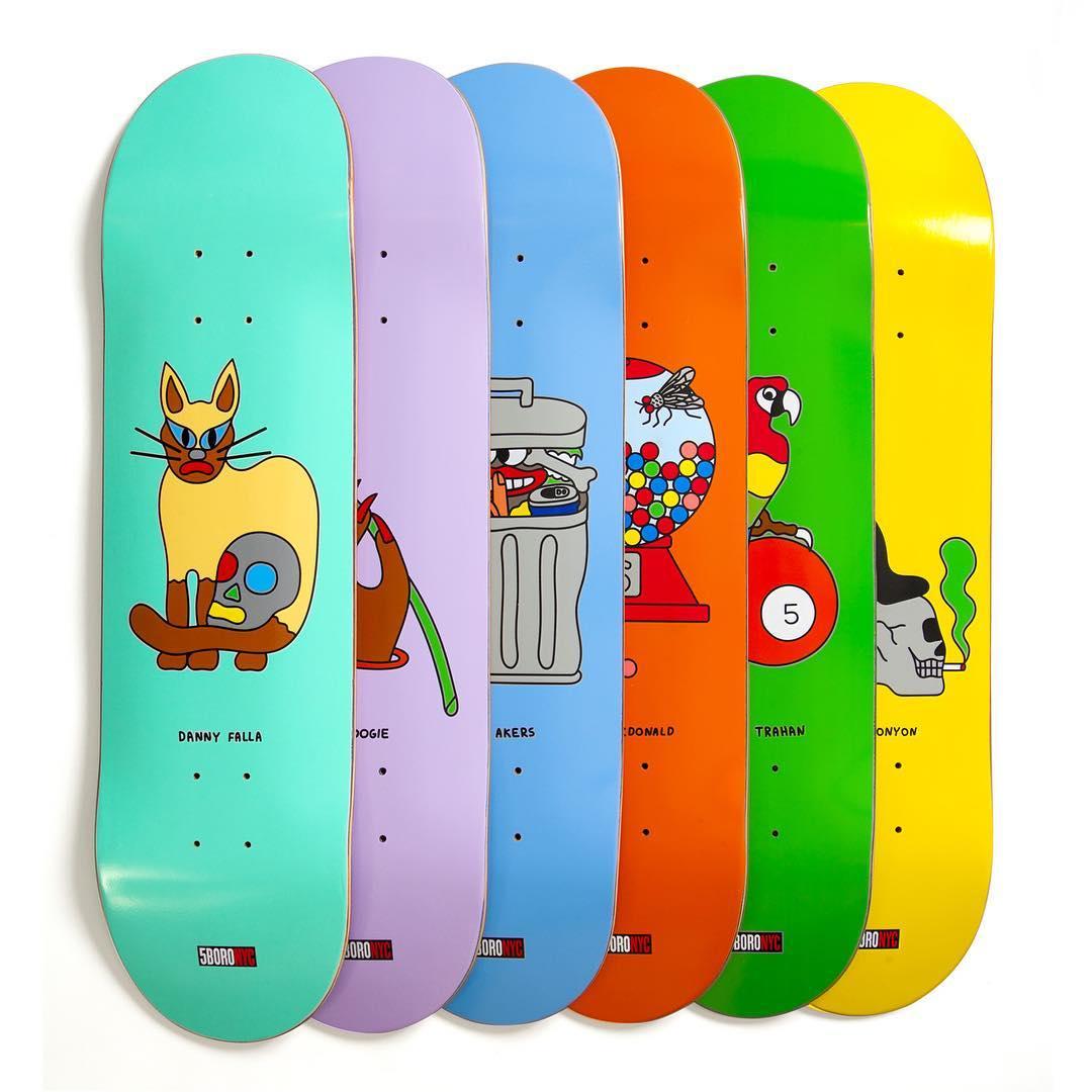5BoroNYC Gabe Alcala skateboards