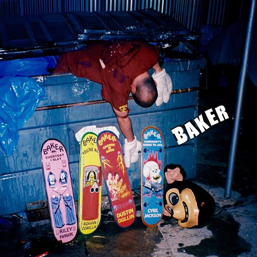 J.J. Villard series x Baker Skateboards