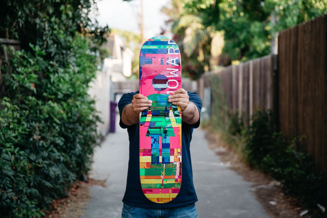 Nick Zegel portrait for Girl Skateboards