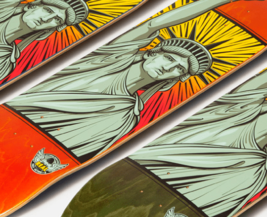 United We Stand by Chris Wright x Real Skateboards