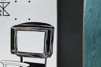 DeParis Yearbook x Artus de Lavilléon skateboards