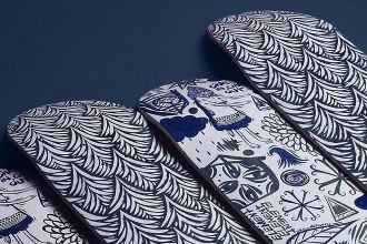 The Indigo series by Thomas Campbell x Element Skateboards