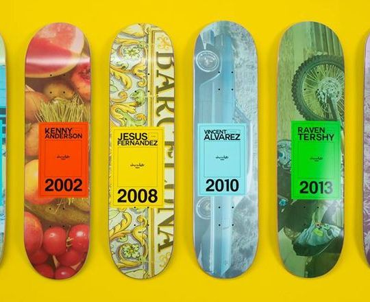 Inaugural Year Series By Chocolate Skateboards