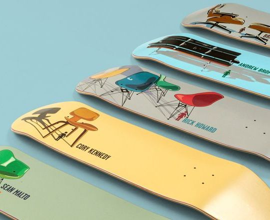 Modern Chair Series By Tony Larson Girl Skateboards