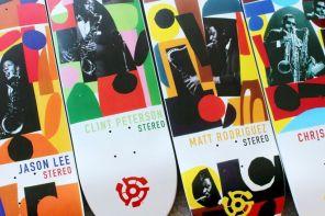Stereo Horns series par Charlie Coatney x Stereo Skateboards