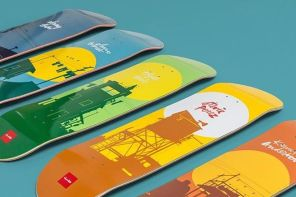 Sun series par Evan Hecox x Chocolate Skateboards