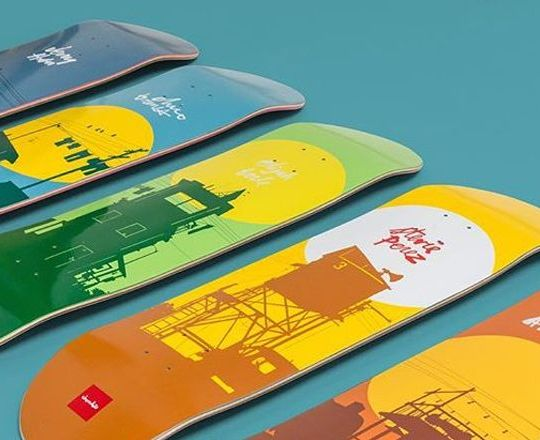 Sun Series By Evan Hecox X Chocolate Skateboards