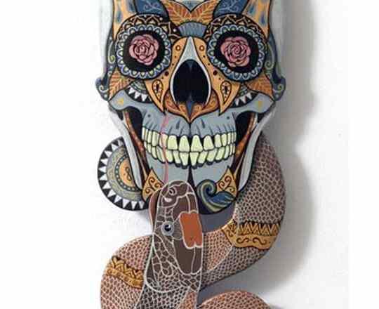 Snake Skull Medicine Julien Deniau