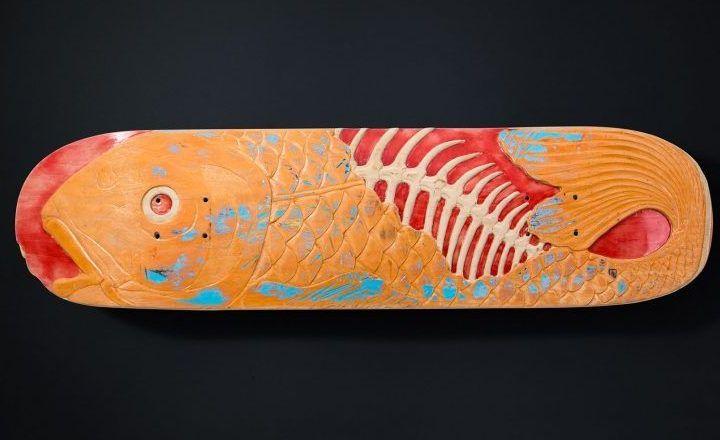 Fish Skateboard Sculpture By Huub Slinger 1