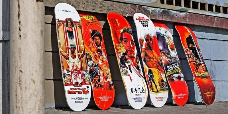 Kung Fu Series Dgk Skateboards 1