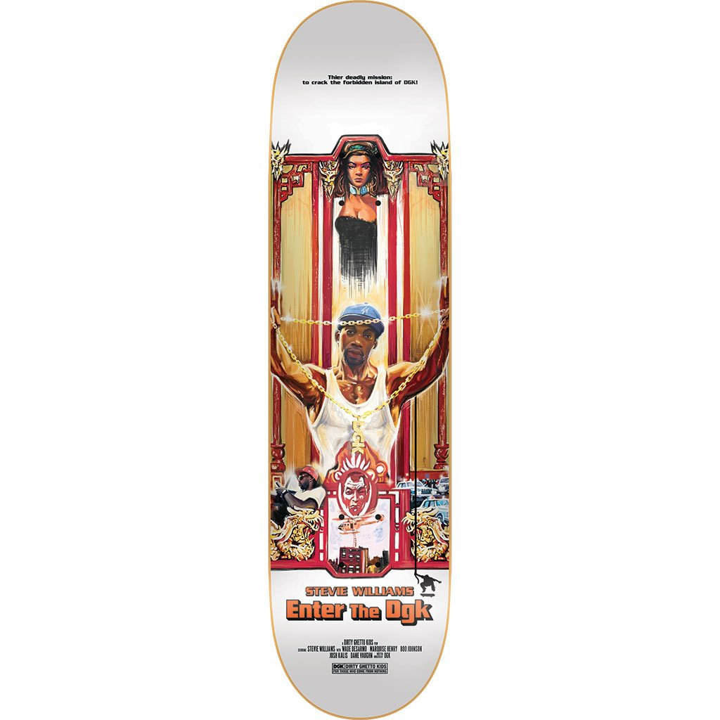 Kung Fu Series Dgk Skateboards 14