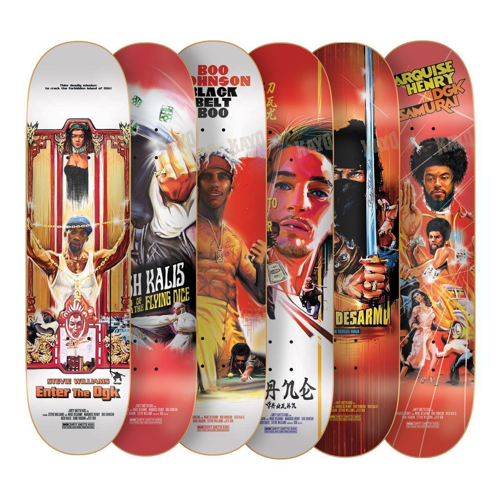 Kung Fu Series Dgk Skateboards 15