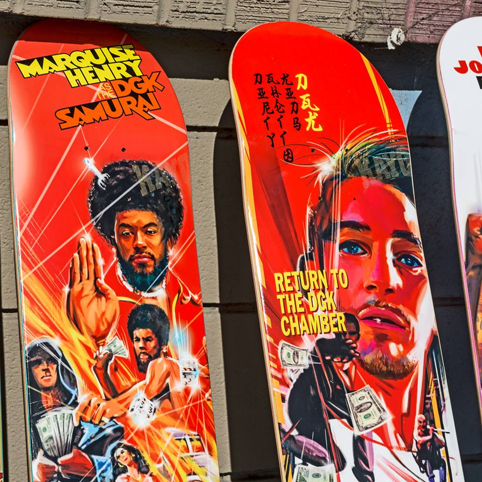 Kung Fu Series Dgk Skateboards 5