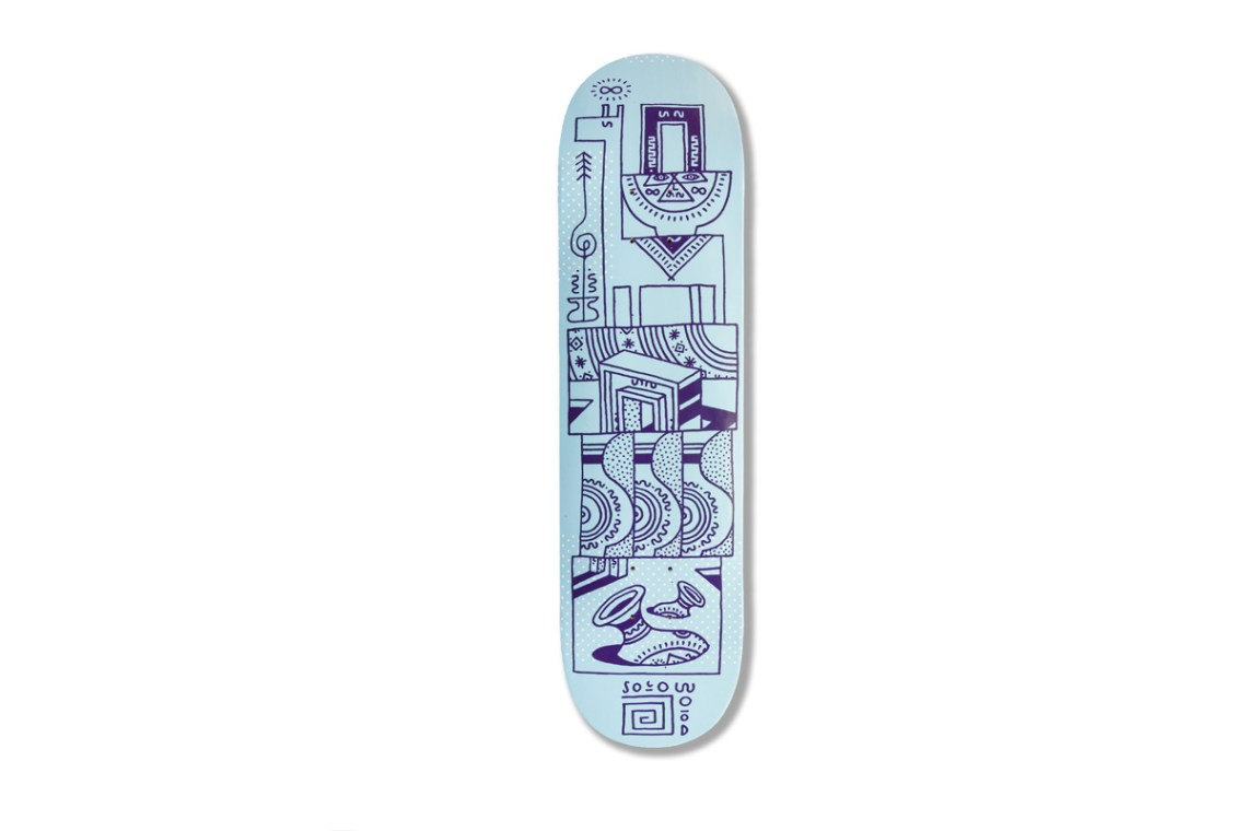 Woodwide Love Series By Elna Solowood Skateboards 8