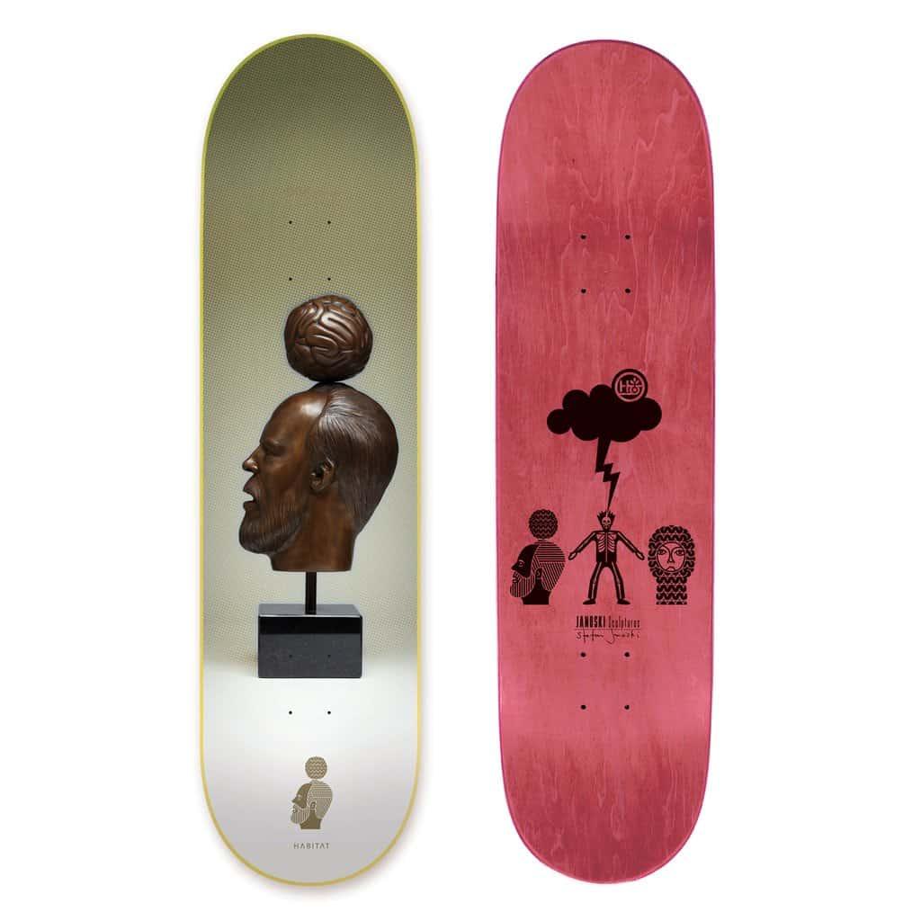 Janoski Sculptures By Stephen Janoski Habitat Skateboard 10