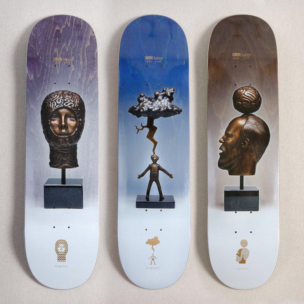 Janoski Sculptures By Stephen Janoski Habitat Skateboard 11