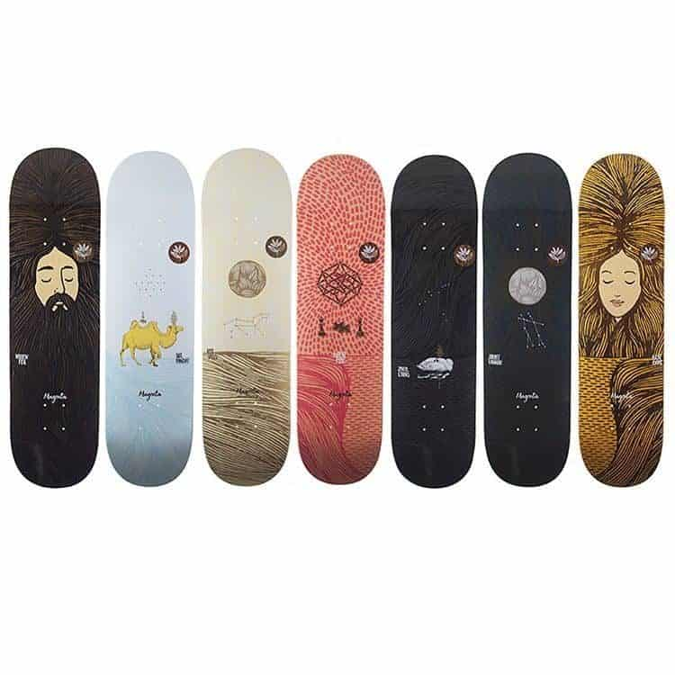 Dream Series By Magenta Skateboards3