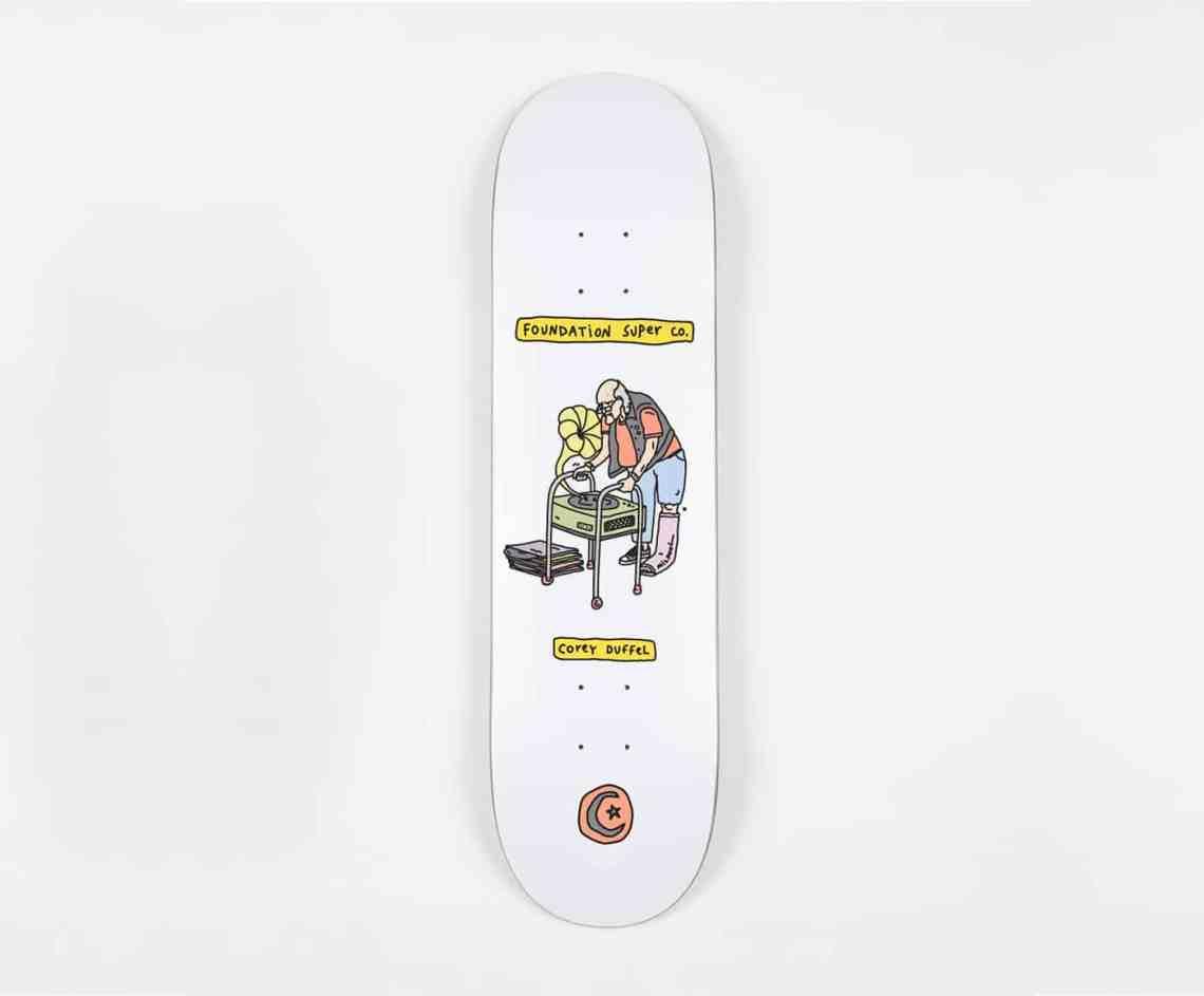 Fondation Brother Merle Skateboards 6