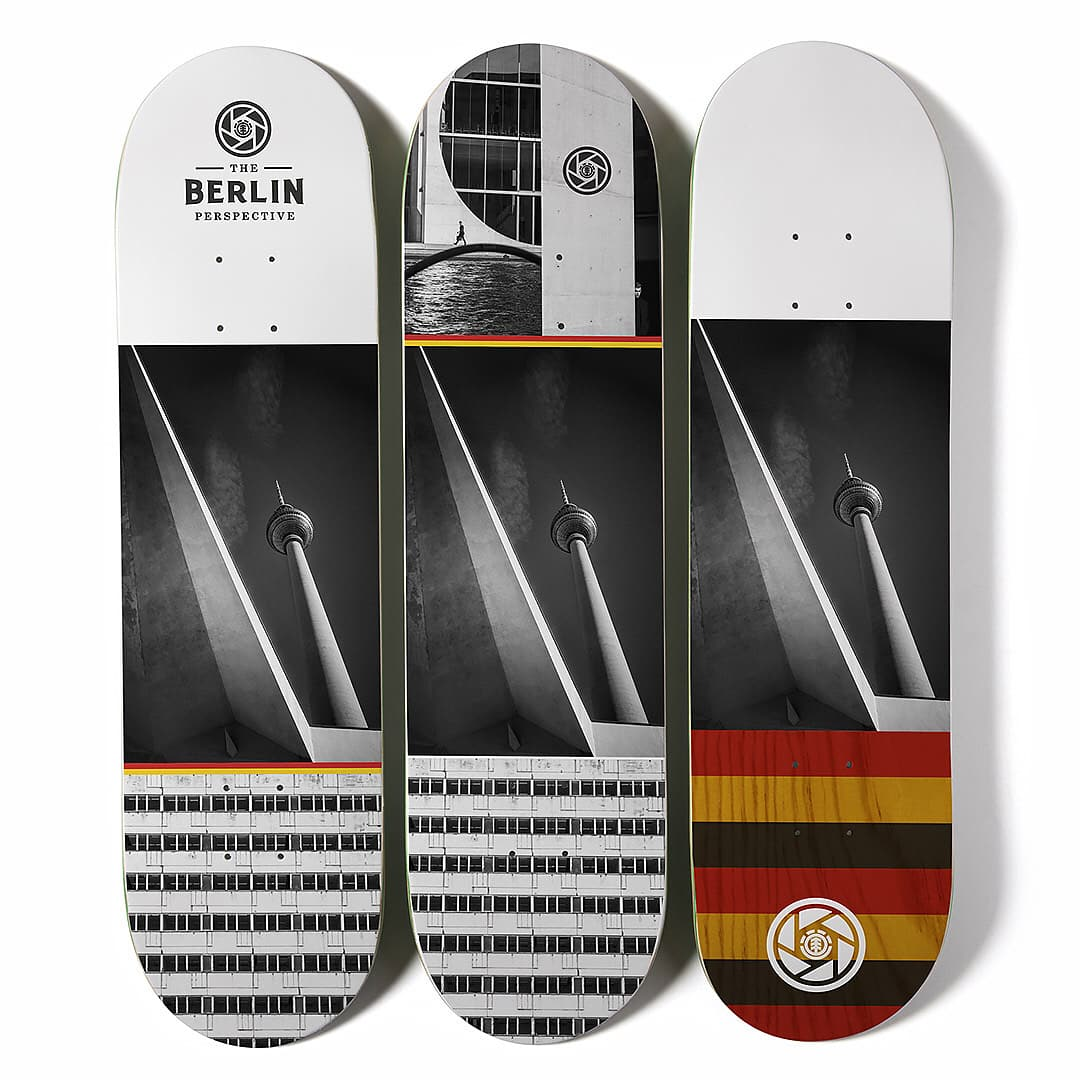 French Fred Titus Element Skateboards 1