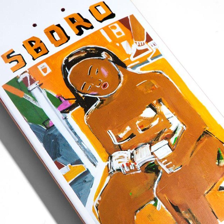 Monica Kim Garza 5boro Skateboards 2