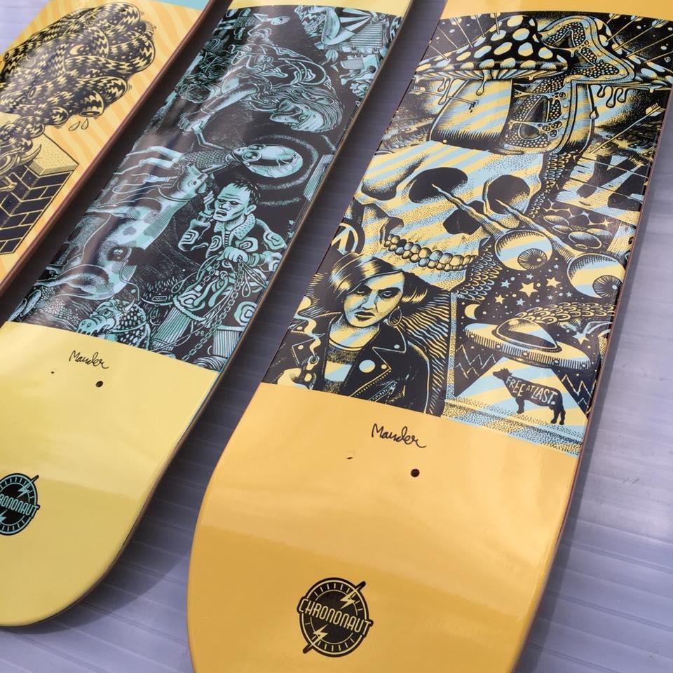 Mander Chrononaut Skateboards 2
