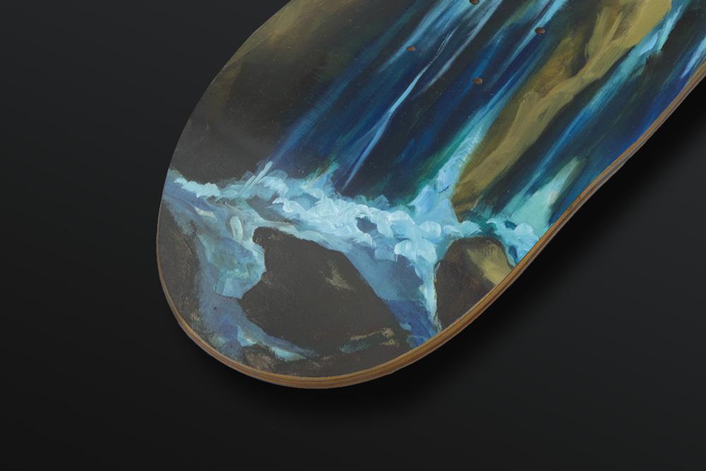 Olivier Masmonteil Skateboard Deck 3