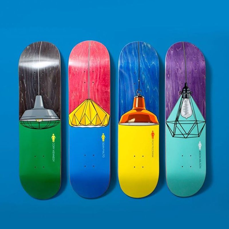 The Illuminated Series By Girl Skateboards 3