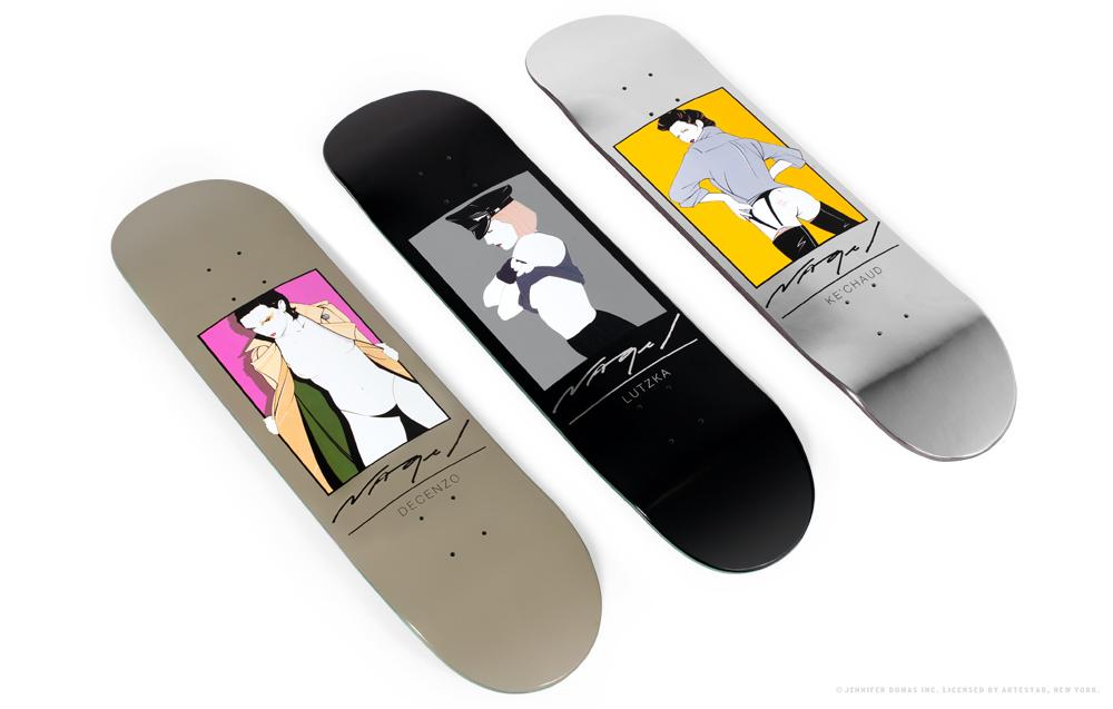 Darkstar Skateboards Nagel D4 Feature Skateboard Collab