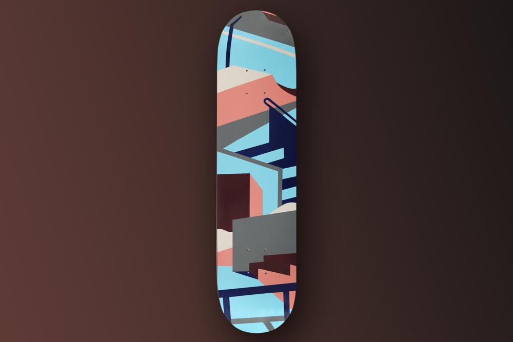 Maria Giemza Skateboard Deck 2