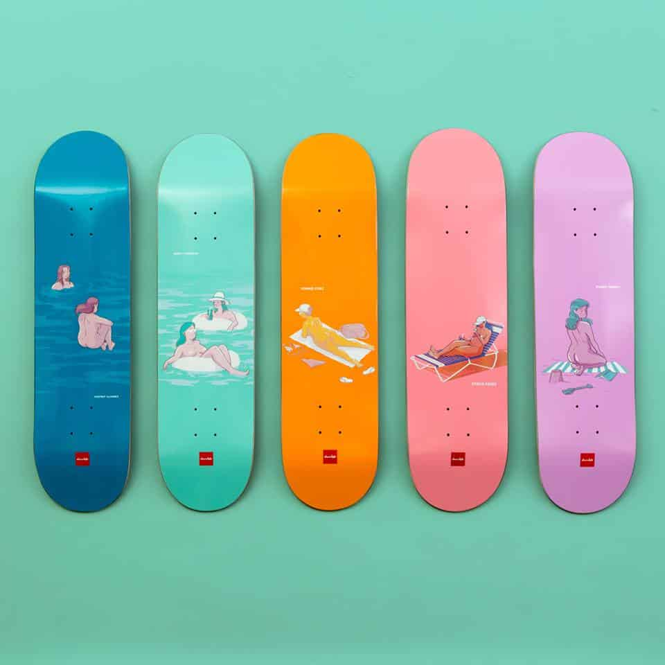 Sunbather Series Chocolate Skateboards 9
