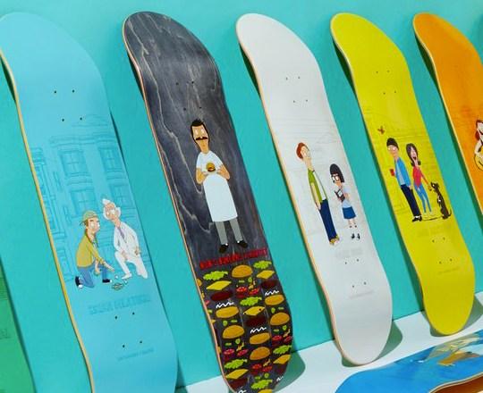 Bobs Burger Habitat Skateboards