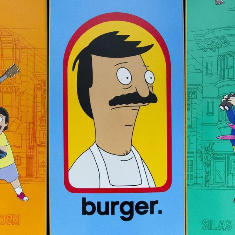 Bobs Burger Habitat Skateboards 6