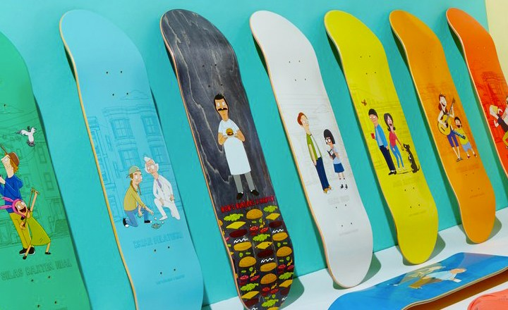 Bobs Burger Habitat Skateboards