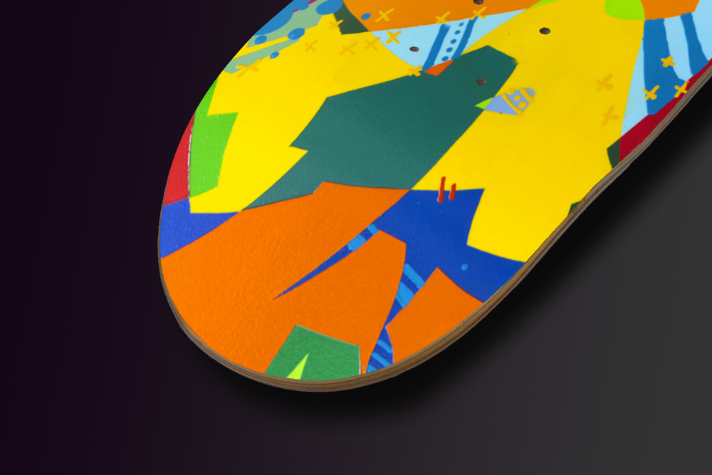 Kongo Skateboard Deck3
