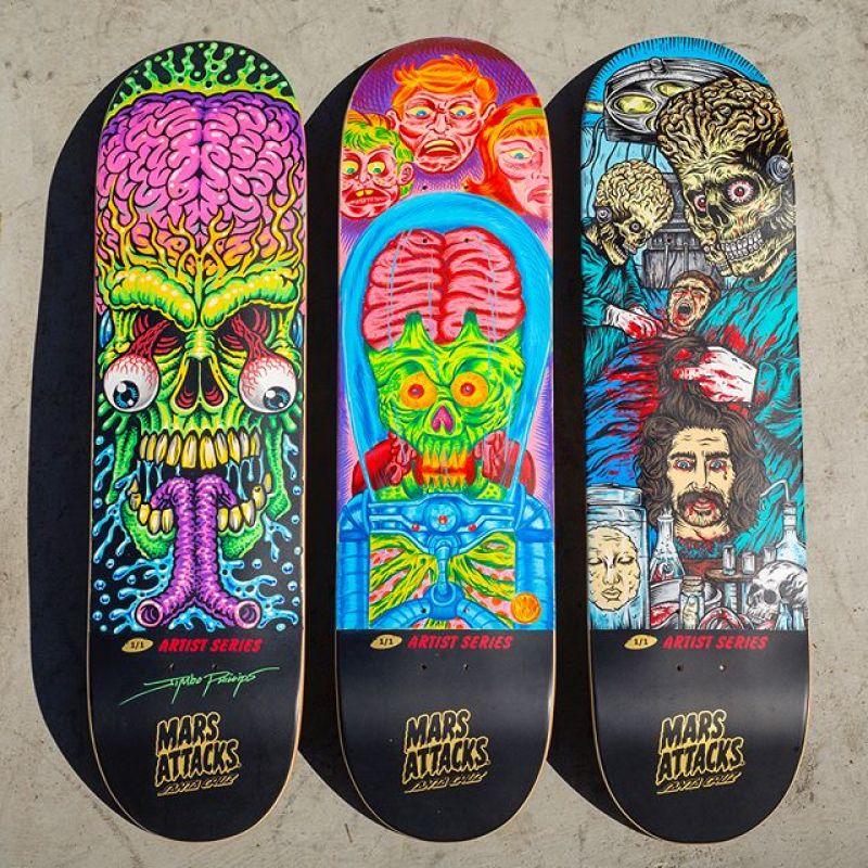 Mars Attack Santa Cruz Skateboard 10