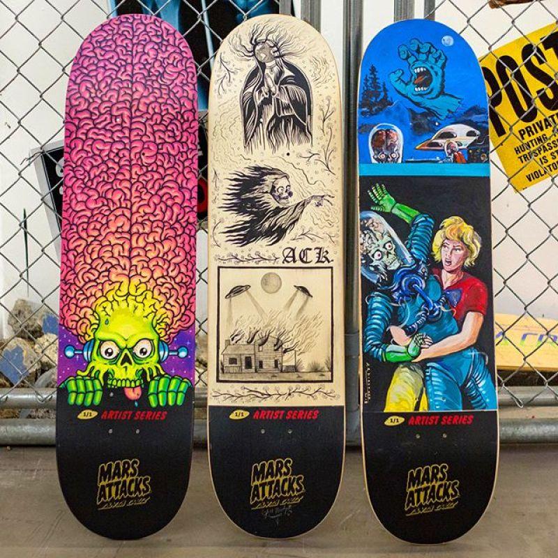 Mars Attack Santa Cruz Skateboard 11