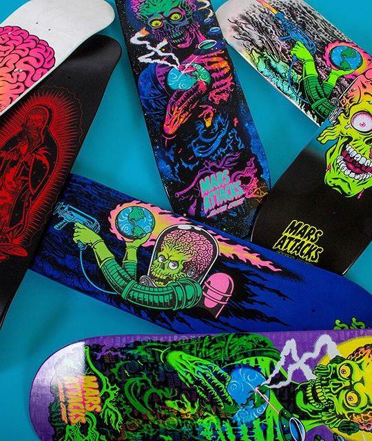 Mars Attack Santa Cruz Skateboard 16