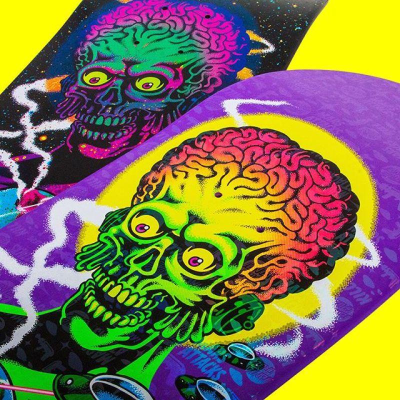 Mars Attack Santa Cruz Skateboard 24