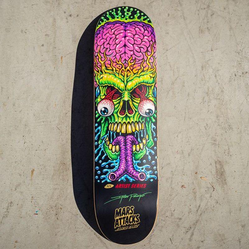 Mars Attack Santa Cruz Skateboard 26