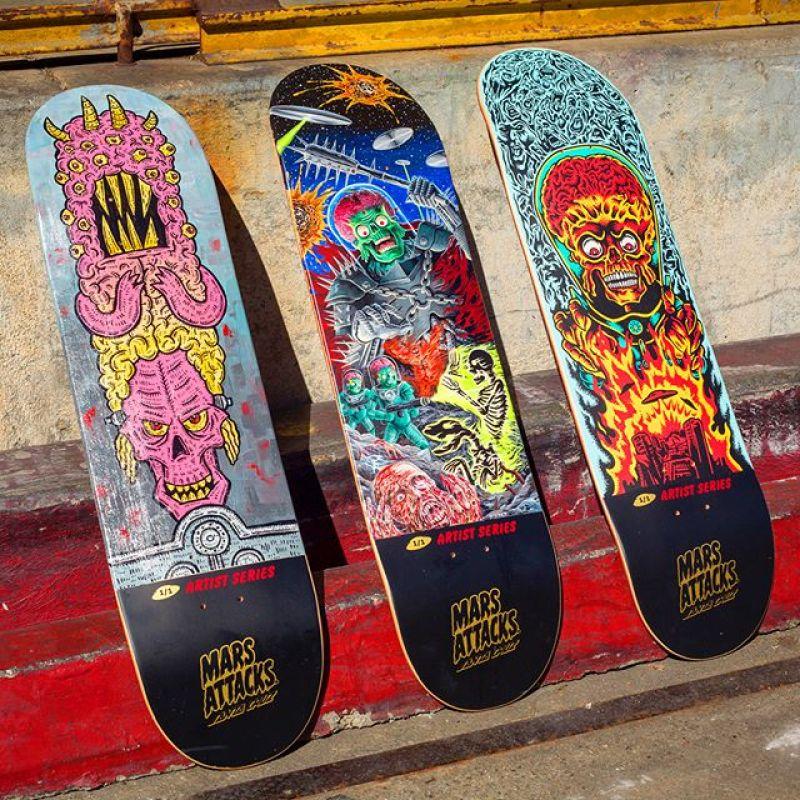 Mars Attack Santa Cruz Skateboard 3
