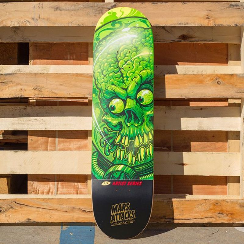 Mars Attack Santa Cruz Skateboard 4