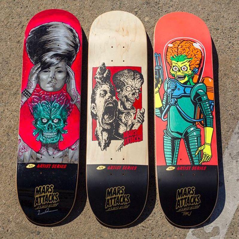 Mars Attack Santa Cruz Skateboard 6